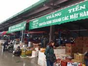 Bán kiot tại KHU HOA QUẢ chợ đầu mối Hoa Qủa Hồng Bàng giá 270tr