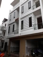 Bán nhà 3 tầng mặt đường thông rộng 8m, thiết kế đẹp, khu Trực Cát Vĩnh Niệm Lê Chân HP