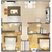 Bán căn hộ Citihomes  P. Cát Lái, Q2 , căn góc diện tích 72m2