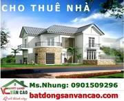Cho thuê mảnh 100m2 mặt đường Hoàng Minh Thảo
