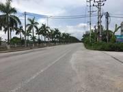 Bánh nhanh mảnh đất MẶT ĐƯỜNG ĐÔI thị trấn Phùng, Đan Phượng
