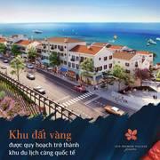 Chỉ với 500tr đầu tiên bạn đã sở hữu 1 căn shophouse view trực diện biển tại đảo ngọc phú quốc