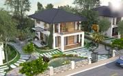 Cơ hội đầu tư lớn - sở hữu lô biệt thự ngoại giao 500m2 dự án Eco Valley Resort Hòa Bình