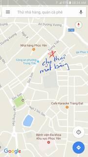 Cho thuê mặt bằng kinh doanh 100-300m2 trung tâm thành phố Phúc Yên