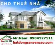 Cho thuê nhà mặt đường Vũ Chí Thắng