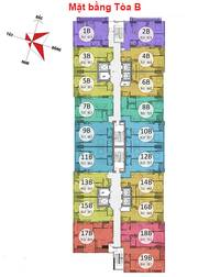 Bán căn hộ giá siêu rẻ 1,12 tỷ, tầng siêu đẹp 76m2 tòa B chung cư Gemek Tower I, Lê Trọng Tấn.