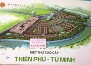 Bán 2 lô đất Biệt Thự Thiên Phú vị trí cực đẹp