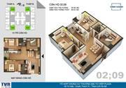 Bán chung cư Tứ Hiệp Plaza căn góc 3PN rẻ nhất thị trường