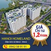 Chung cư trung tâm quận Long Biên chỉ 1,2 tỷ/căn hỗ trợ vay 80 giá trị căn hộ