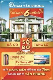 Khu Dân Cư Đa Chức Năng cửa ngõ Bắc Vân Phong, giá chỉ từ 6 triệu/m2
