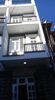 Nhà 1trệt ,2lầu ,sân thượng ,DTSD 120m2, 4pn lớn ,3wc ,giá chỉ ,2.tỷ.2 ,1419 lê văn lương