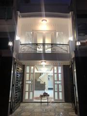 Bán nhà đẹp 2MT hẻm 6m DT 4x17  khu Bình Phú 1 Q6