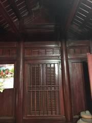 Nhà  gỗ lim 3 gian cực chất 300 tr ở hoặc  làm nhà thờ
