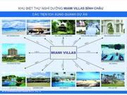 Đất Nền  Biệt Thự Liền Kề Biển. MIAMI VILLAS BÌNH CHÂU. Bà Rịa Vũng Tàu