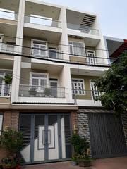 Nhà mới đẹp 100 HXT 260 Bà Hom Q6 4x15 3.5 tấm