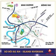 ISLAND RIVERSIDE, MT Ngô Chí Quốc, P. Bình Chiểu, Quận Thủ Đức. Giá chỉ từ 25tr/m2.