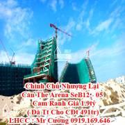Chính Chủ Nhượng Lại Căn The Arena SeB12 - 05 Cam Ranh Giá 1 tỷ 969tr   Đã Tt Cho CĐt 491tr