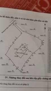 Bán đất lô rộng chà bá lửa Lư Cấm Ngọc Hiệp 1.447 m2