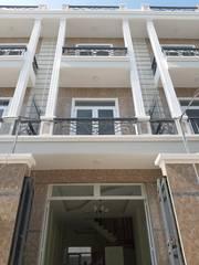 Nhà Mới   Sổ Hồng Riêng   4m x 14m,1 trệt, 2 lầu ,sân thượng ,Đg Lê Văn Lương nối dài ,Q.7