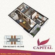 Chỉ 1.1 tỷ sở hữu căn hộ tại DA Thăng Long Capital ngay cạnh Vincity Sportia, CK 5 và 13tr
