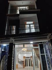 Nhà   Sổ Hồng Riêng   đường Lê Văn Lương nối dài Q7, 1 trệt , 2 lầu , 4pn bự . 3wc