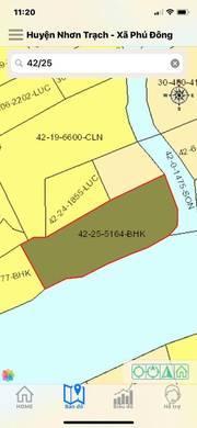 Định cư cần bán gấp ĐẤT CÔNG NHƠN TRẠCH đối diện quỹ đất 212HA CỦA VINGROUP 1,1tr/m
