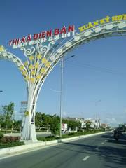 Cần ra đi nhanh lô mặt tiền đường 10m5 gần chợ ở Điện Bàn