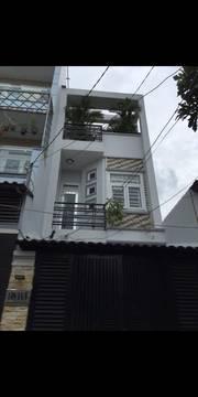 Nhà Nguyễn Duy Cung phường 12, gò Vấp, 3,8m x 15m,3 tầng,3,5 tỷ