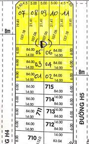 Chính chủ bán sỉ 18 lô đất tại Thành phố Hồ Chí Minh, giá tốt.