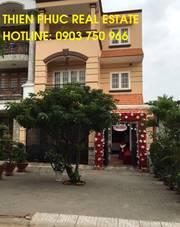 Cho thuê biệt thự KDC Savimex Huỳnh Tấn Phát, Phú Thuận Q7, 365m2, 40 triệu/ tháng