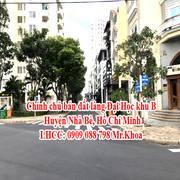 Chính chủ bán đất làng Đại Học khu B, huyện Nhà Bè, Hồ Chí Minh.