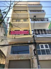 Cho thuê nhà nguyên căn mặt tiền đường Tạ Quang Bửu, P4,Q8  khu Him Lam Đồng Diều