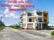 Mở bán nhà xây thô khu D1 - khu đô thị mới phía nam Nam Hải Dương - TP. Hải Dương