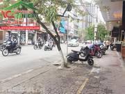 Bán 110m2 mặt đg ngô gia tự, ngang 4,3mhướng Nam, gần cổng chợ Đằng Lâm
