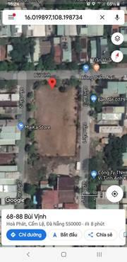Chủ gởi Thịnh lô đất Q.cẩm lệ 3 mặt tiền Bùi Vịnh chỉ 24tr / m2 , dt 1871 m2.