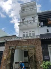 Bán nhà chính chủ 4 tầng đường Nguyễn Ảnh Thủ Q 12 DT sàn: 167m2 giá 4 tỷ
