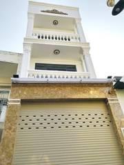 Bán nhà phố hiện đại 2 lầu MT hẻm 502 Huỳnh Tấn Phát, P. BT, Q7