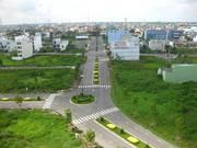 Bán 2 lô liền kề dự án khu trung tâm thành phố Tân AN, đã có sổ đỏ