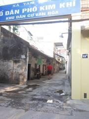 Bán 2 nhà cấp 4, 30,6m2 và 50m2, khu tập thể kim khí, Tam Hiệp, Thanh Trì, Hà Nội