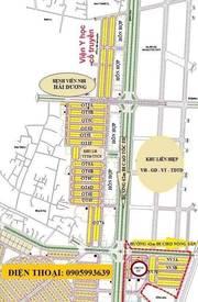 Bán đất hỗn hợp đường 62m - đại lộ Võ Nguyên Giáp - KĐTmới Nam Hải Dương