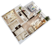 Chính chủ cần bán căn hộ A2706   dự án Imperia Sky Garden   423 Minh Khai