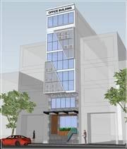 Tòa nhà văn phòng cho thuê mới 100 tại số 83 đường A4, phường 12, Quận Tân Bình.