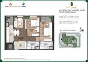 Bán chung cư The Emerald Mỹ Đình 77.7m2 giá 2.7 tỷ có bảo trì.