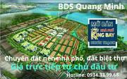 Đất Nền Nhà Phố Biệt Thự KingBay Phong Thủy Hội Tụ 3 Mặt Tiền Sông Cam Kết Lợi Nhuận 15