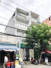 Cần bán nhà phố 2 lầu mặt tiền đường số, P. Tân Quy, Quận 7