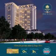 Chỉ với 630 triệu sở hữu ngay căn hộ thông minh TSG Lotus Sài Đồng, HTLS 0, CK 3   1cây vàng 9999