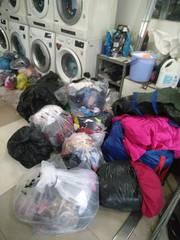 Bận việc cần sang gấp cửa hàng giặt sấy lấy liền