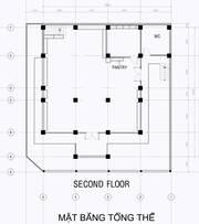 Văn phòng 200 m2  14x14  tầng 2, đ/c 97/7 Lê Quang Định, Bình Thạnh.