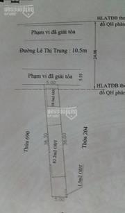 Bán lô đất mặt tiền Lê Thị Trung, đối diện Chợ An Cơ, giá Rẻ