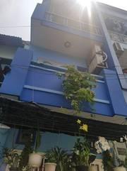 Nhà đường Tân Sơn NHì DT 3x10m 1 trệt 2 lầu đúc BTCT đẹp hẻm trước 4m